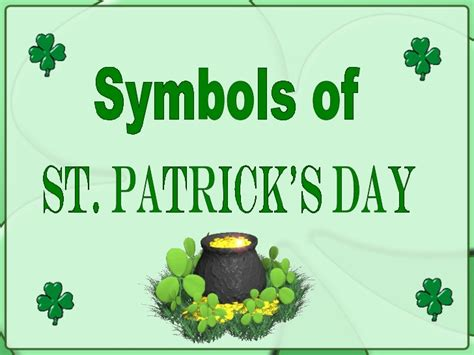 symbols of st s day
