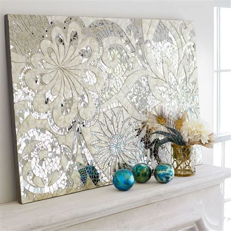 capiz shell wall decor 17 best ideas about mosaic wall on mosaic
