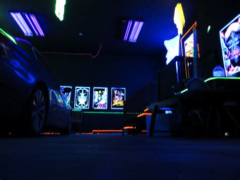 Check Out My Blacklight Garage