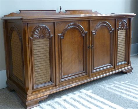 record player stereo cabinet 1969 magnavox vintage record player stereo console