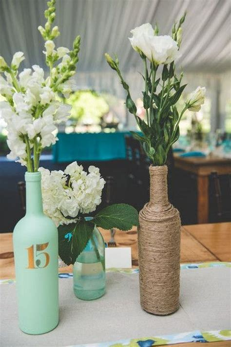 wine bottle centerpieces 28 wine bottle centerpieces for every occasion shelterness