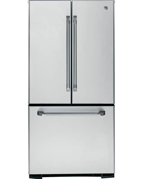 ge cafe door refrigerator ge cafe series cns23sshss 23 cu ft door