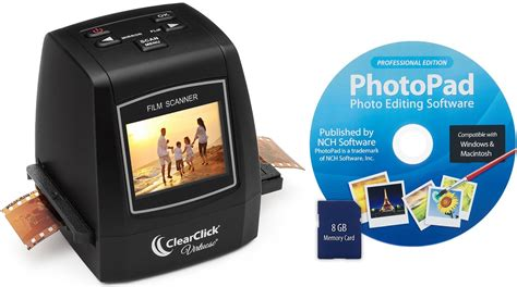 recommended film scanner clearclick virtuoso film and slide scanner review