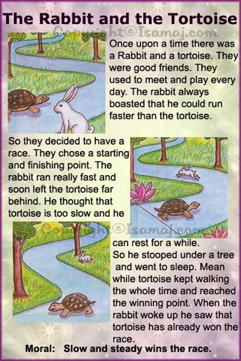 story themes and morals moral stories the rabbit and the tortoise kids moral