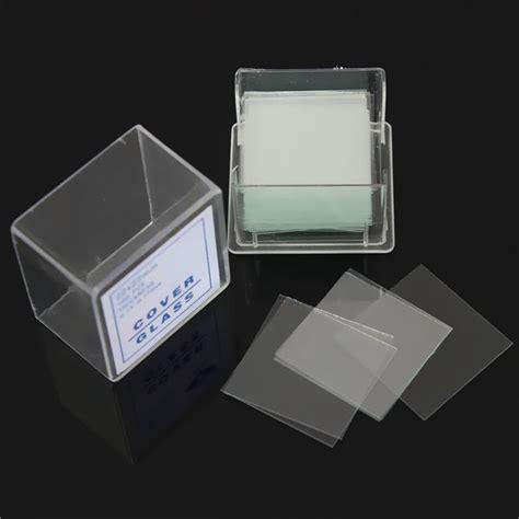 Cover Glass Mikroskop 100pcs Set Disposable Microscope Coverslip Laboratory