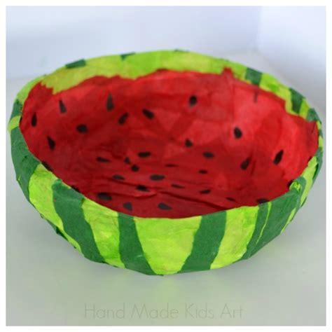 Watermelon Paper Craft - watermelon crafts think crafts by createforless
