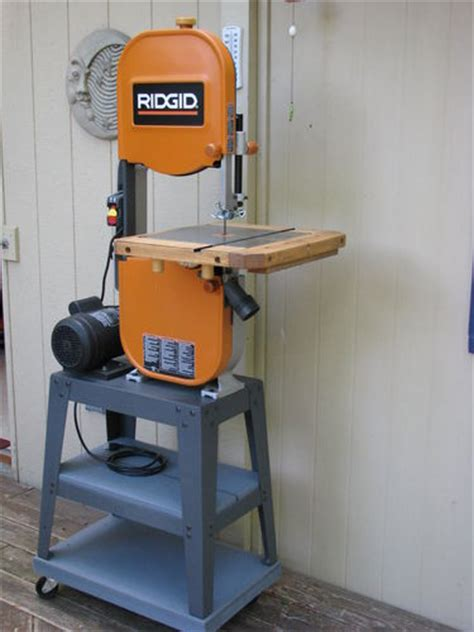 ridgid 14 in bandsaw r474 the home depot review ridgid bs1400 w riser block by mrron