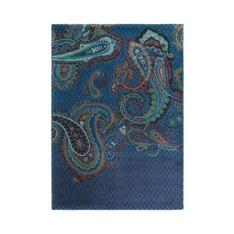 Amara Blus buy ted baker paisgeo rug blue amara