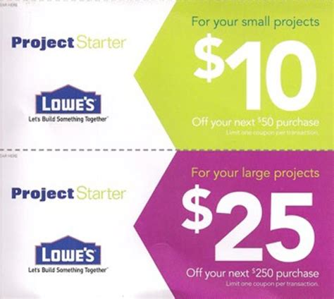 Lowes Gift Card Promo Code - printable lowes coupon 20 off 10 off codes december 2016