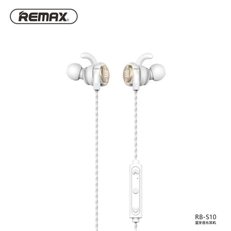 Remax Earphone Bluetooth Sporty Rb S10 remax sport magnetic bluetooth headphones running wireless earphone noise reduction stereo