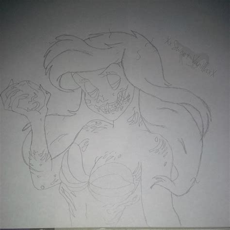 zombie ariel tutorial ariel zombie drawing by xxsweet vanillaxx on deviantart