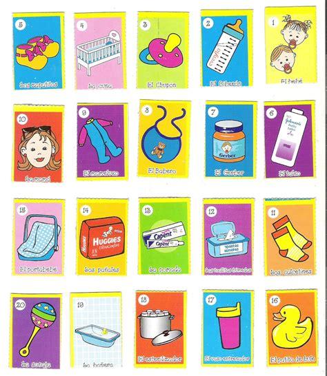 loteria baby shower para imprimir gratis loteria para baby shower imprimir gratis pdf imagui