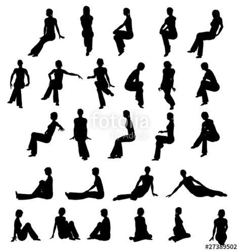 silhouette persone sedute quot silhouette donna seduta quot immagini e fotografie royalty