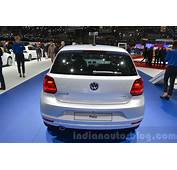 VW Polo Allstar Rear At The 2016 Geneva Motor Show