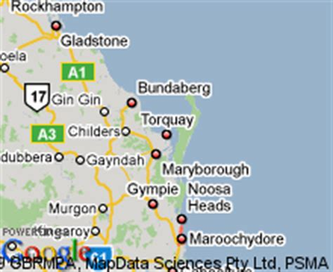 printable map hervey bay map of hervey bay qld my blog