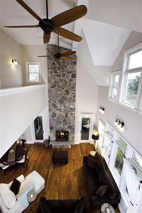 how to cool a room with two fans bird s eye view of living room