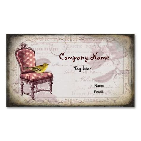 free shabby chic business card templates 200 best business card templates images on