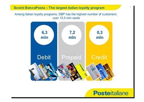 sconti banco posta bancoposta and customer engagement paolo baldriga