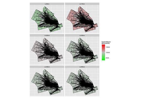 ggplot theme help ggplot2 facet plot of shapefile polygons produces stran