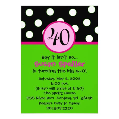 Invitation For Birthday Quotes Invitations For 40th Birthday Quotes Quotesgram
