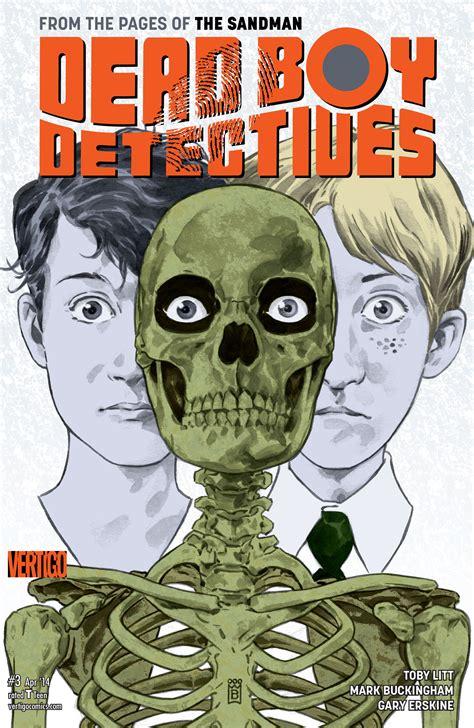 Dead Boy Detectives Volume 2 Tp recomendaciones penumbriosas i penumbria