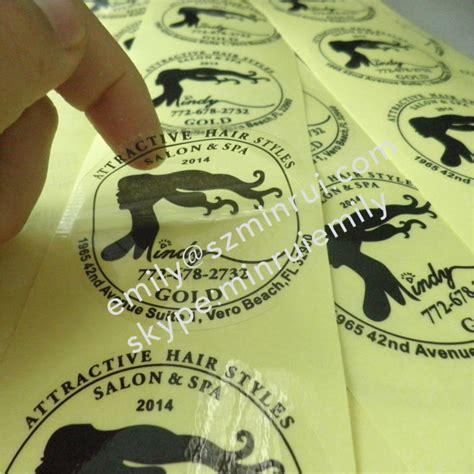 Etiketten Drucken Durchsichtig by Wasserdicht Runde Transparente Etiketten Mit Costomized