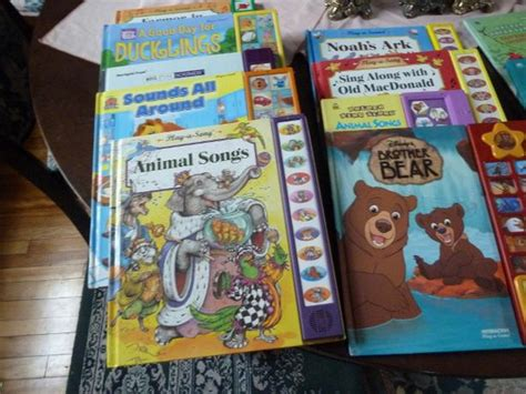 Animal Songs Sing Along Songs Sound Book golden electronic story books and play a song books