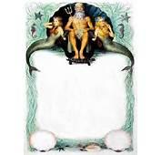King Neptune And Mermaids