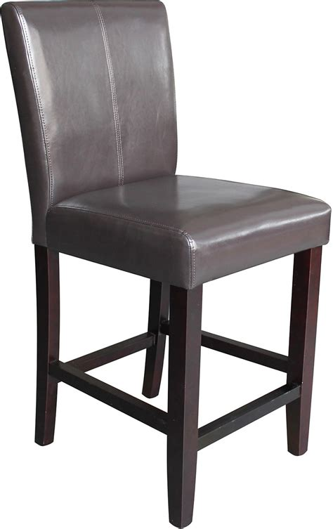 Counter Height Dining Chairs Brown Counter Height Dining Chair The Brick