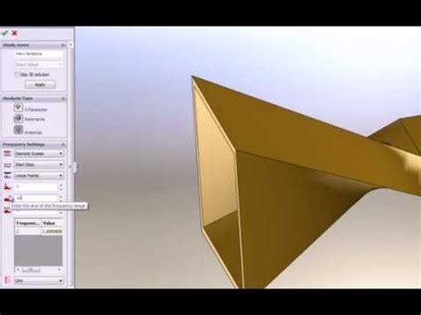 antenna simulation software hfworks creating  antenna