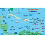 Caribbean Map / Of The  Maps And Information About