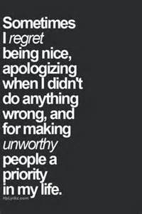 Being nice apologizing when i didn t do anything wrong part of