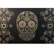 Medium Day Of The Dead Sugar Skull Wallpaper 1