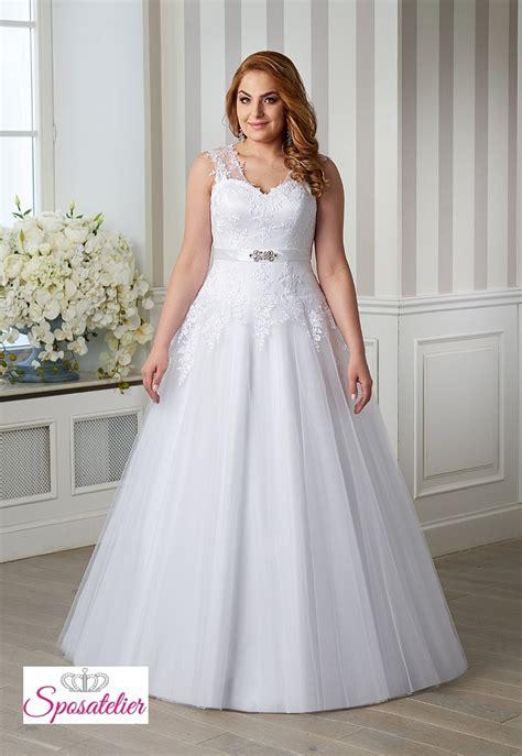 fiori per abiti da sposa abiti da sposa per taglie comode completo di cintura con
