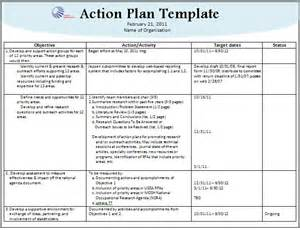 action plan template download page word excel formats