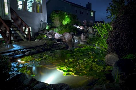 aquascape pond lights aquascape landscape led pond lighting youngsville wake