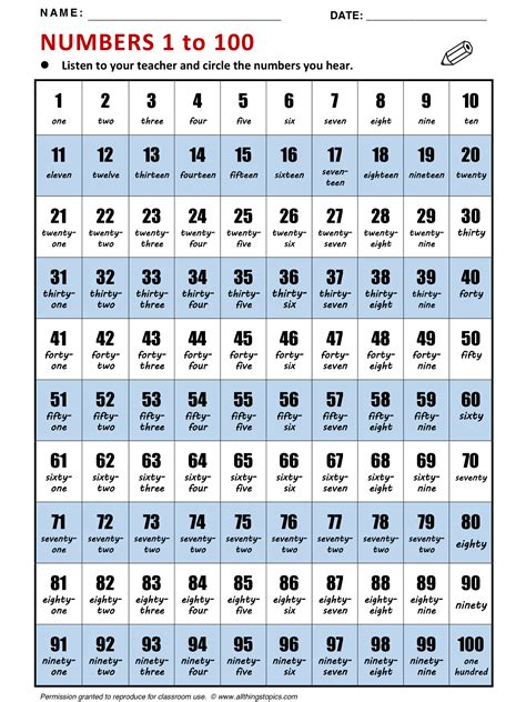 numbers 1 100 in english printable 1 to 100 english word worksheet ixiplay free resume sles