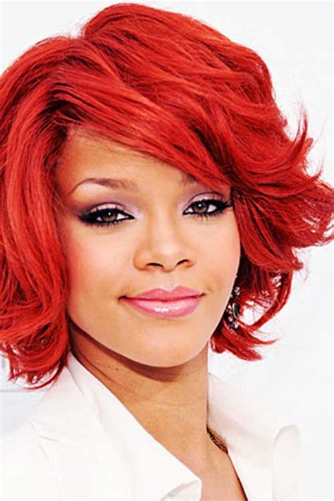 how to dye african american short hair red 5 short haircuts wavy african american can t do without