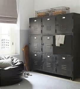 Ways to use metal lockers in kids rooms storage kidspace