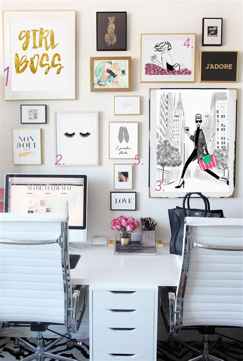 home office decor pinterest best home office ideas for bloggers and girl bosses glam