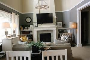 Living Room Two Colors Ideas » Home Design 2017