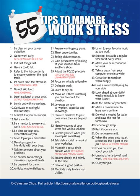 to do list formula a stress free guide 55 tips to manage work stress manifesto what about me work stress management
