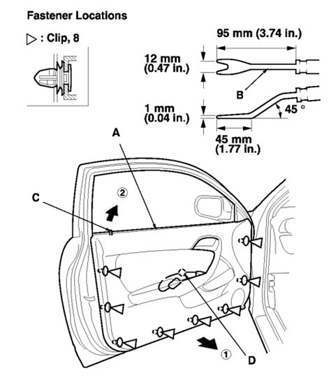 change mode control activator 2005 acura rl repair guides interior power door locks 2 of 2