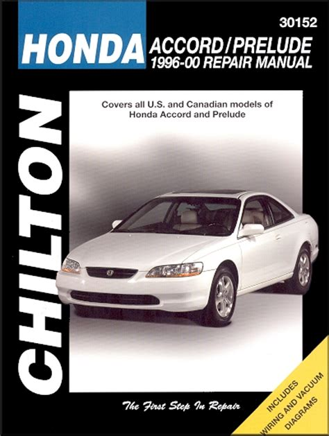 best auto repair manual 1993 acura legend transmission control 1996 2000 honda accord honda prelude repair manual chilton