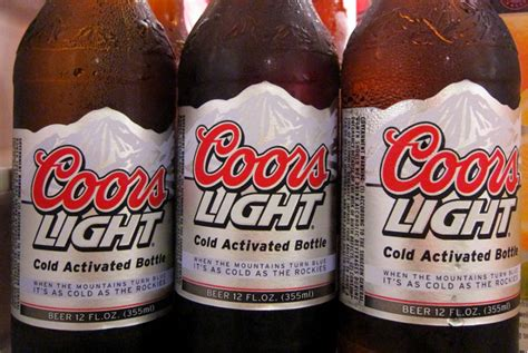 coors light cold facts a florida is suing millercoors because coors light is