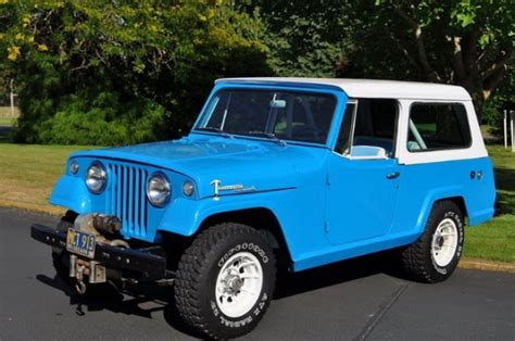 Jeep Commando For Sale 1969 Jeep Commando Jeepster V6 For Sale
