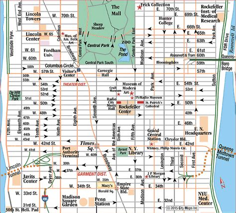 map of ny manhattan maps map manhattan