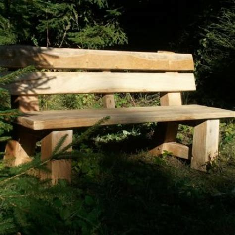 rustic park bench bespoke oak garden buildings structures and rustic