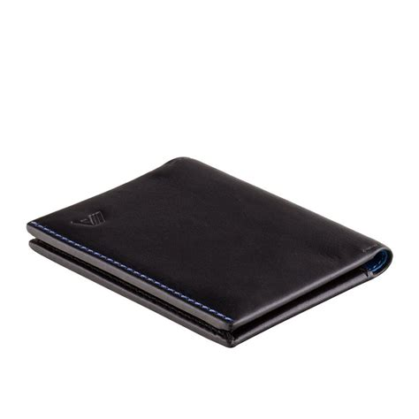 Origami Leather Wallet - a slim leather wallet origami black blue wallets brands