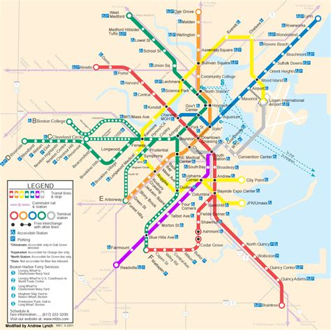 boston mbta map mbta future maps